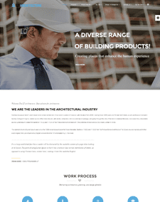 LT Architecture – Free Responsive Modern / Architecture WordPress theme