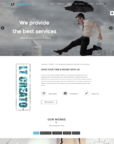 LT Creato – Free Responsive Design / Creative WordPress theme