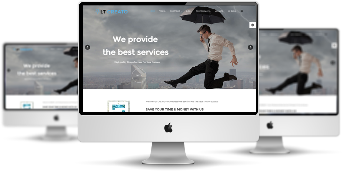LT Creato Joomla template preview free