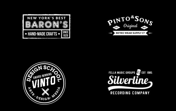 Perfect FREE Vintage Logo MockUp Templates Pack Vol.1 - Responsive ...