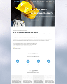 LT Architecture Onepage – Free Single Page Modern / Architecture Joomla template