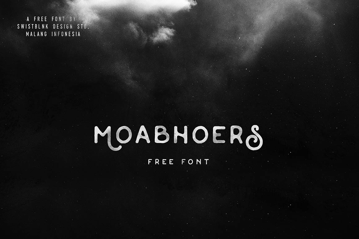 FREE Vintage Font - Moabhoers