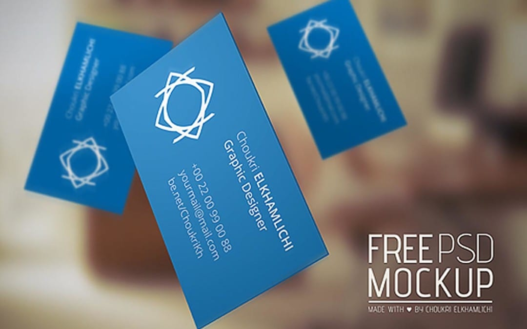 Flying business card mockup template responsive joomla and flying business card mockup template reheart Image collections