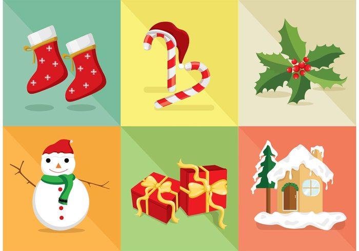 Christmas FREE Vector Icons Set