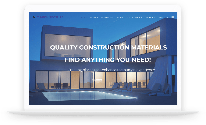 LT-Architecture-Joomla-template
