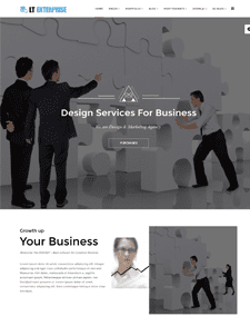 LT Enterprise Onepage – Free Responsive Image Design / Creative Onepage WordPress theme