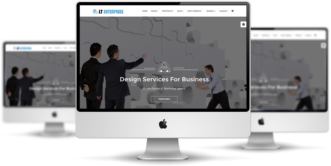 LT Enterprise Joomla template Free