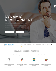 Lt resume free joomla personal resume template yelopaper Choice Image