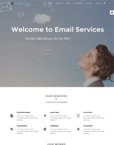 LT eService – Free Business / Online Service Joomla Template
