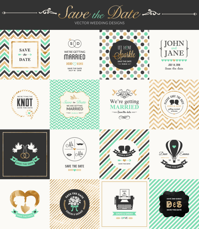 Save The Date Free Vector Pack Responsive Joomla And Wordpress Themes - Free save the date templates photoshop