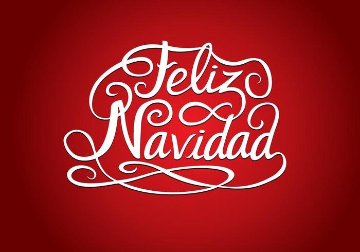Feliz Navidad - Variation of Christmas logo Design - Responsive ...