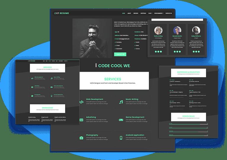 lt-resume-responsive-joomla-template-home