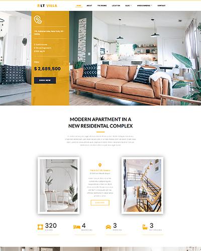 LT Villa – Free construction joomla template