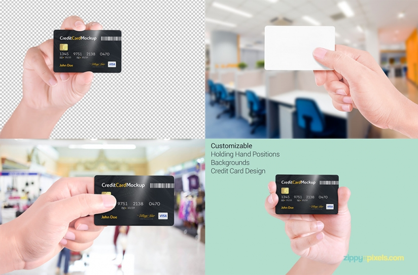 Credit Card FreeMockUp