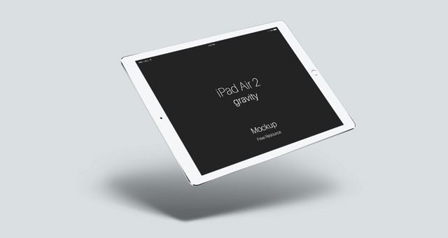 ipad air 2 gravity free psd mockup template - responsive joomla, Powerpoint templates