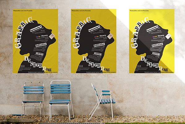 Realistic Urban Poster Free MockUps