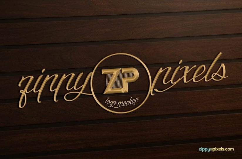 Collection Of 5 Free Logo Mockups