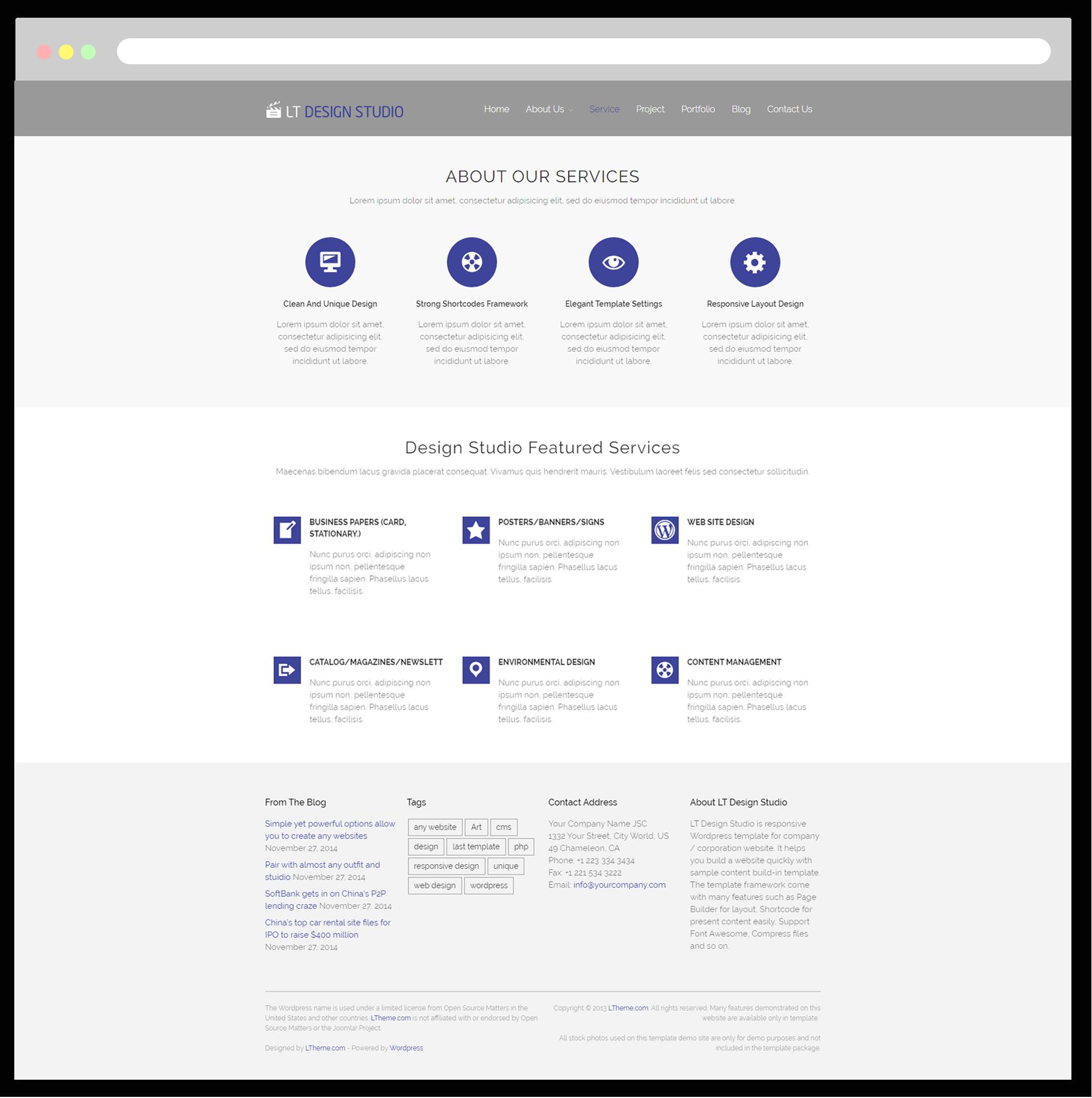 Lt design studio free responsive creative design studio service page magicingreecefo Gallery