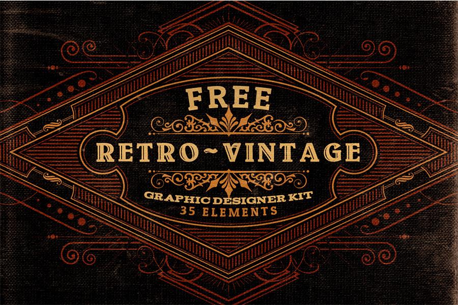 01-Free-Retro-Vintage-Graphic-Designer-Kit
