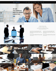LT Recruit Onepage – Free Single Page Responsive Job Board / Human Resources Joomla template