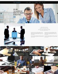 LT Recruit Onepage – Free Responsive Job Board / Human Resources Onepage WordPress theme