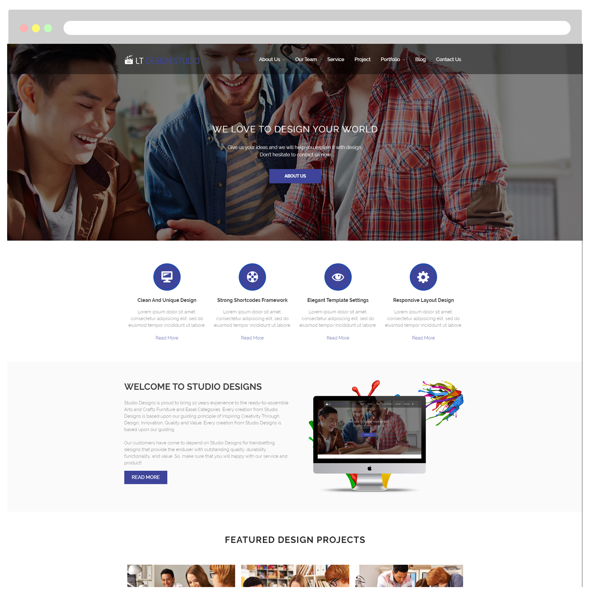 Wordpress Themes - Responsive Joomla and Wordpress themes