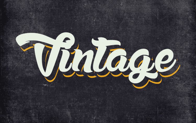 10 Different Vintage And Retro Graphic Style