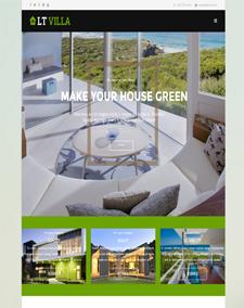 LT Villa Onepage – Free Responsive Modern Villa Onepage WordPress theme