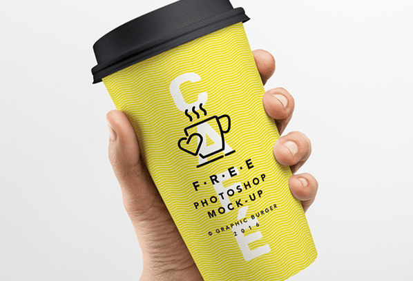 PSD Coffee Cup MockUp Free Download