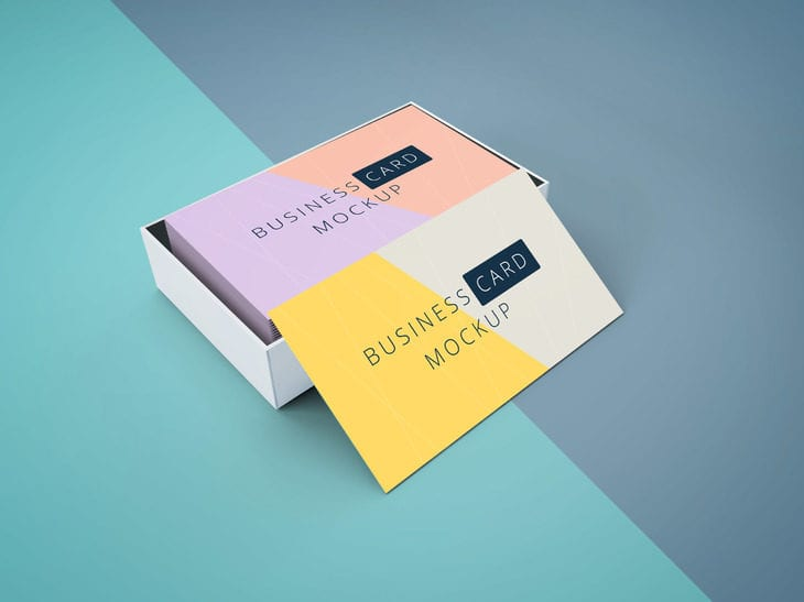 Business Card MockUp Free Download