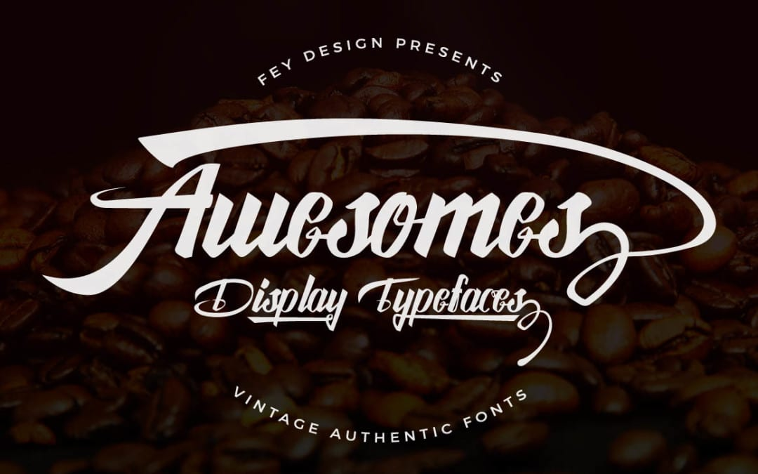 Awesome Display Free Font For Designers