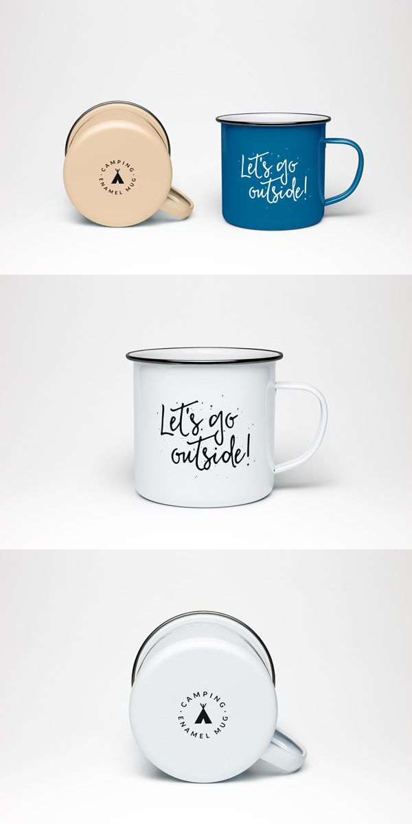 Mug MockUp PSD Free Download