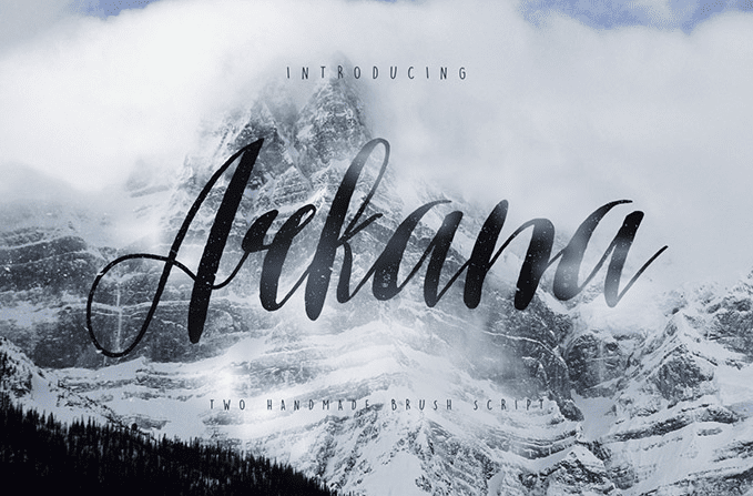 Arkana – Free Vintage Script Font