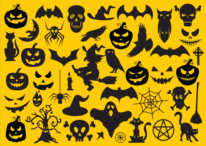 Halloween Vector Free For Designers