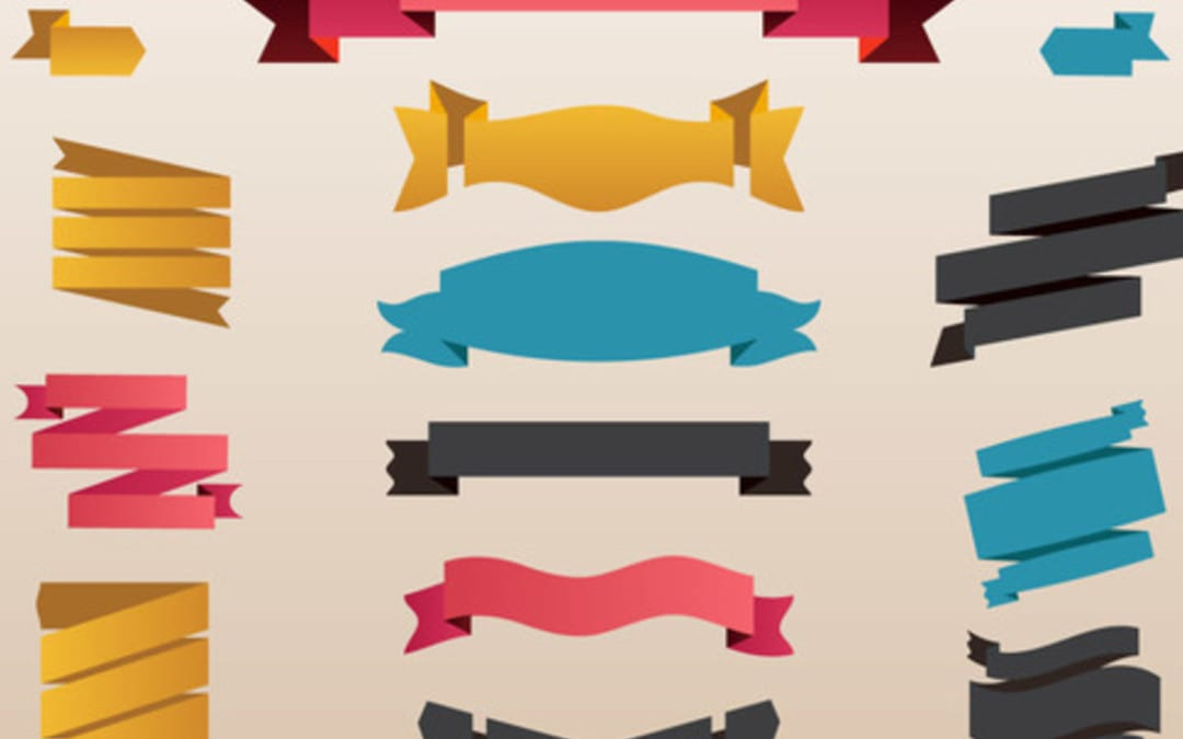 LTheme Free Ribbon Vectors