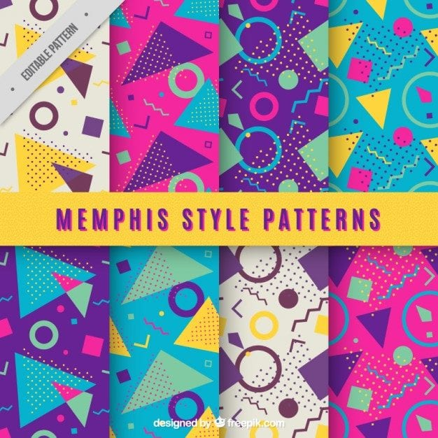 Great Colorful Geometric Patterns Free Download