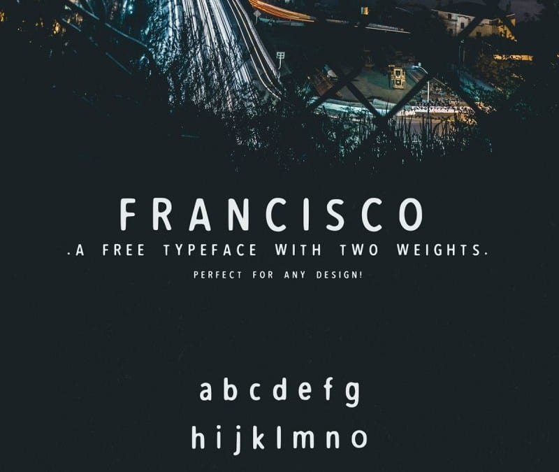 Fransico – Creative Font Free For Your Designs