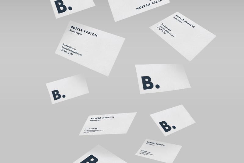 Modern Business Card Mockup