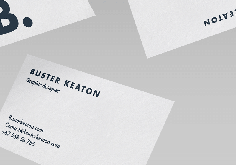 Modern Business Card Mockup - Responsive Joomla and Wordpress themes