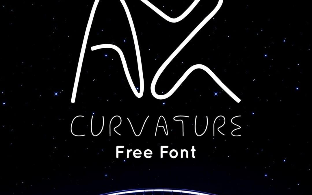 Free Download Font: AX Curvature