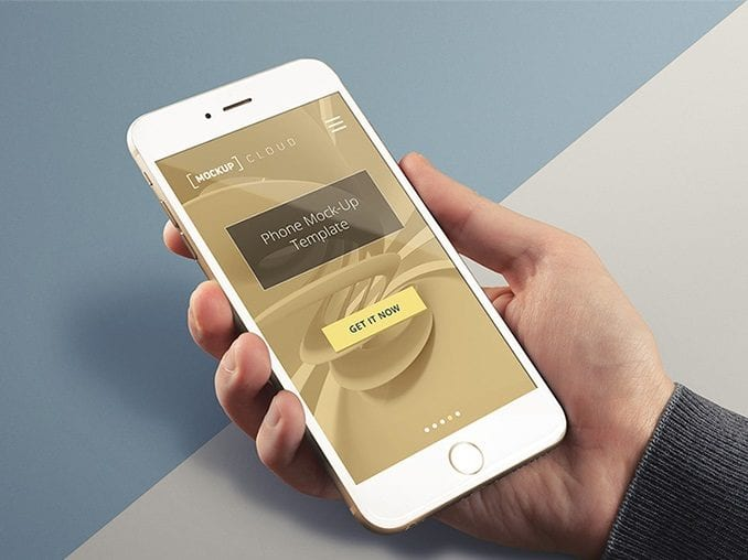 Free iPhone Mockup Template