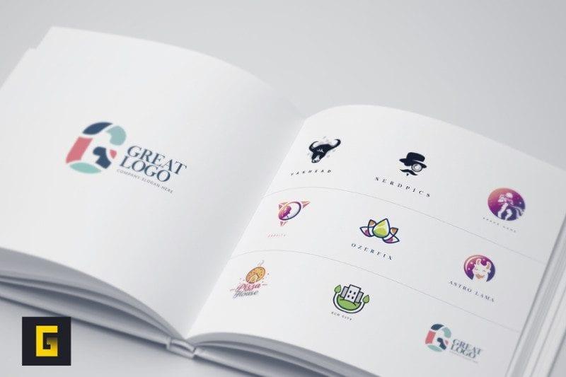 Free Polychromatic Logo Templates