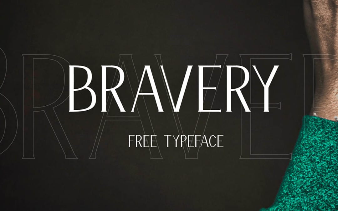 Bravery – Vintage Style Free Font Download