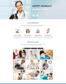 LT Anicare Single Page – Free Responsive One Page Pet WordPress theme