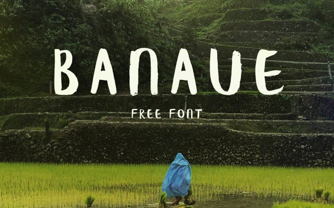 Banaue – Awesome Handwritten Brush Free Font