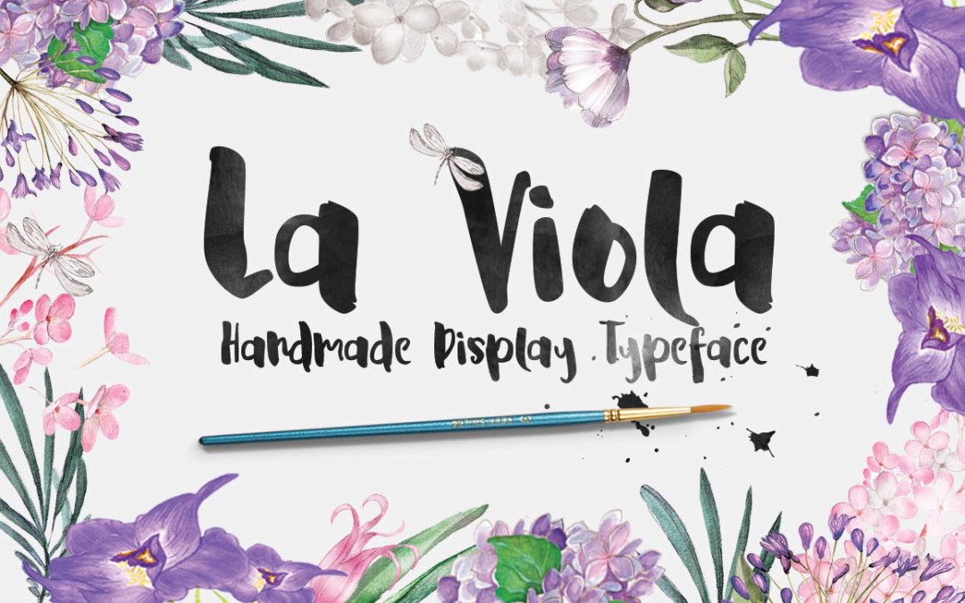 LaViola – Creative Brush Display Font