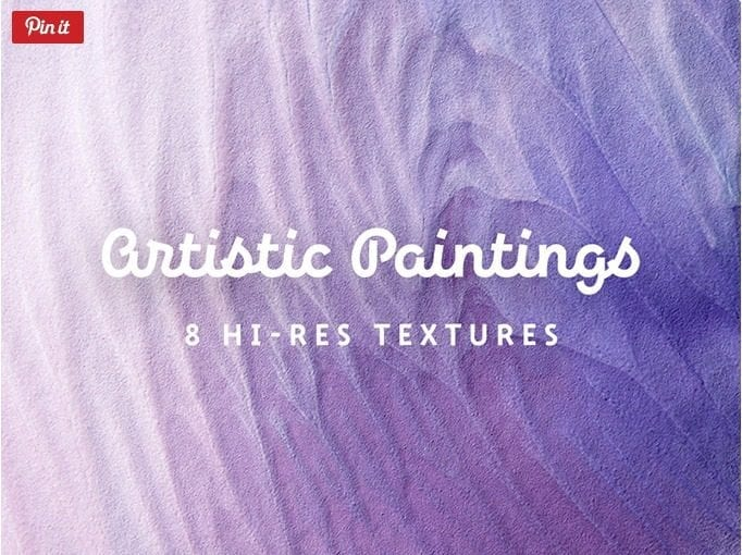 Set Of 8 High-resolution Artistic Painting Textures