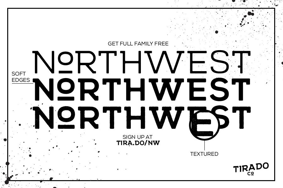 Northwest Free Retro Font
