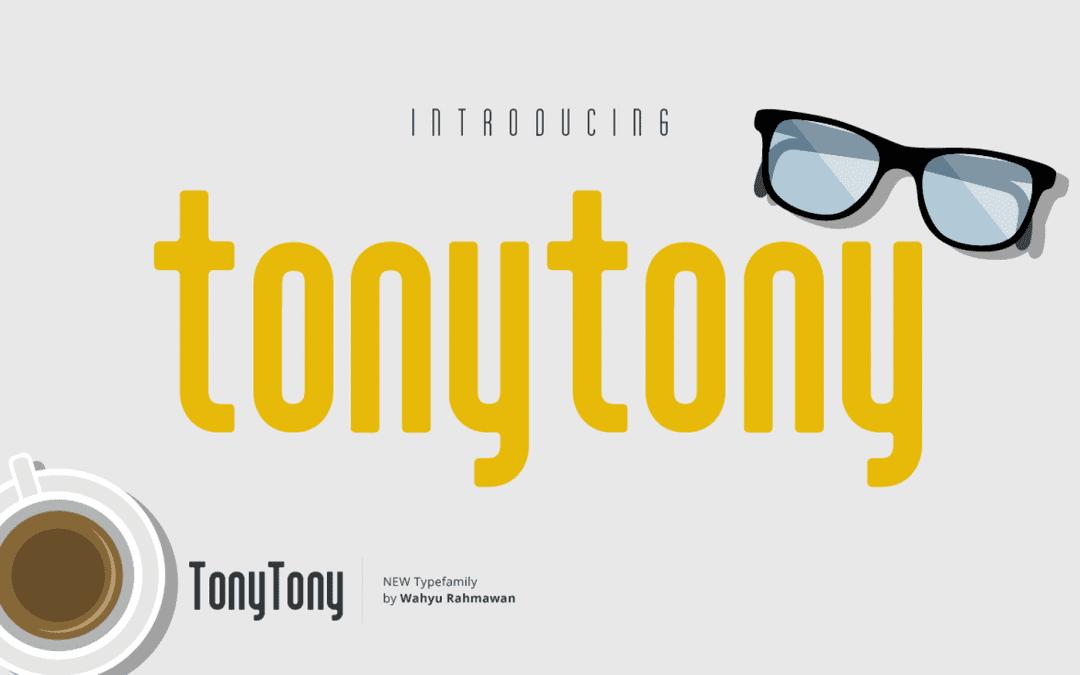 Tony Tony Simple Sans-serif Free Font