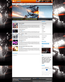 LT Games – Free Responsive News WordPress Themes